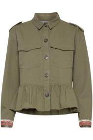 salg af b-young Army jakke med flot ryg