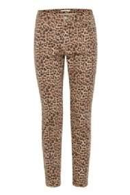 salg af b-young Buks i Leopard print
