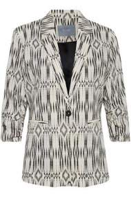 salg af b-young jakke i kit-sort farve