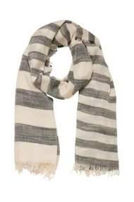 salg af b-young tørklæde i kit og sort