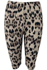 salg af Black Colour leggings i kort model
