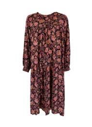 salg af Black colour Maxi Dress i sort/Pink farver