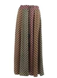 salg af Black Colour nederdel i multi farver
