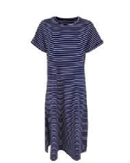 salg af Black colour stribe kjole polly dress