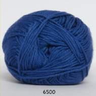 salg af Bomuldsgarn i klar blå farve