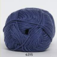 salg af Støvet blå akrylgarn med bomuld