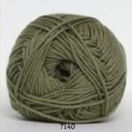 salg af Grøn Blend bomuldsgarn med acryl