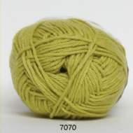 salg af Limefarvet bomulds og akrylgarn fra Hjertegarn