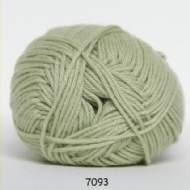 salg af Mintgrøn bomuldsgarn med akryl