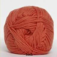 salg af Mørk orange bomulds/akrylgarn