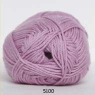 salg af Rosafarvet garn med akryl og bomuld