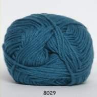 salg af Turkisfarvet garn med bomuld og akryl