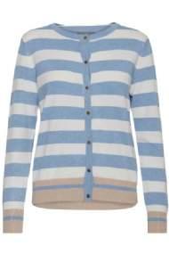 salg af Bluse/Cardigan i blå/hvid stribet B-young