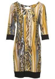 salg af Boheme tunika kjole i gule farver
