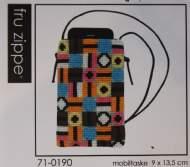 salg af Broderi Fru Zippe Mobil Taske