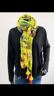 salg af Cat & Co tørklæde med print