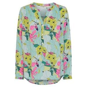 salg af Dagny Skjorte Bluse i multi farvet
