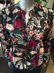 Dagny skjorte med blomster