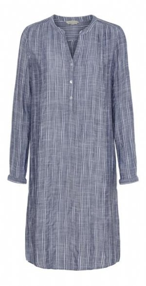 salg af Dagny skjorte/tunika i Blå