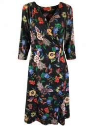 salg af Dot & Doodles kjole med blomster møns.
