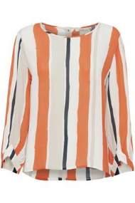 salg af Dranella Skjorte bluse i kit med orange
