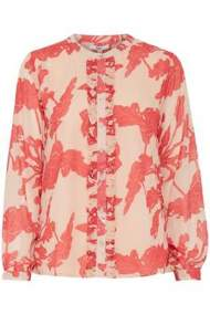 salg af Dranella Skjorte bluse i smuk mønster