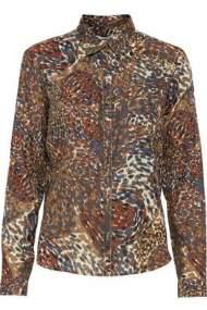 salg af Dranella Skjorte bluse i varme farver