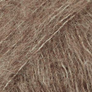 salg af Drops Brushed Alpaca  silk lys brun