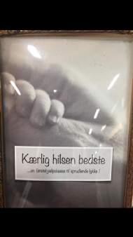 """salg af Fam. Davidsen.Strikke kit- Kærlig hilsen Bedste  """" til PIGE."""""""