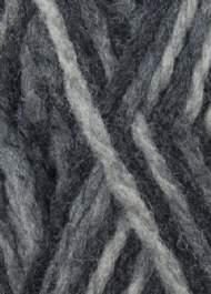 salg af Uldgarn i sort/grå meleret til filtning