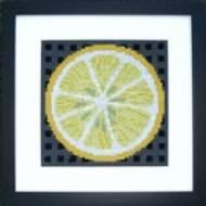 """salg af Fru Zippe Broderi """" Citron"""""""