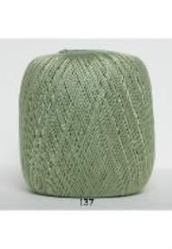 salg af Hækle garn nr. 5 Grøn