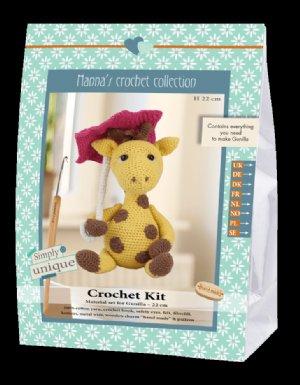 salg af Hækle kit giraf med paraply