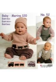 salg af Hjertegarn baby hæfte nr 52