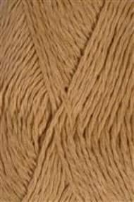 salg af Hørgarn i sart gulbrun nuance