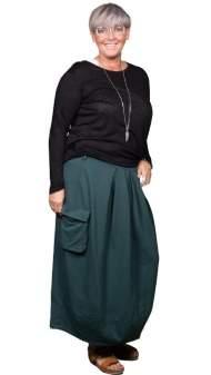 salg af Janne K Bolulds Nederdel i petrol