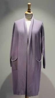 salg af Janne K Cardigan i Lavendel farvet