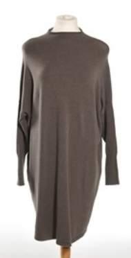 salg af Janne K Srtik kjole i brun