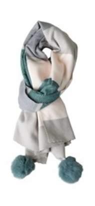 salg af Janne K Tørklæde i grønne farver