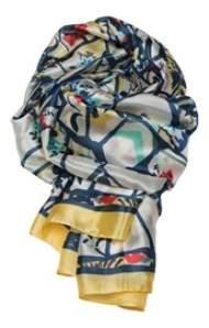 salg af Janne K tørklæde i multi farvet