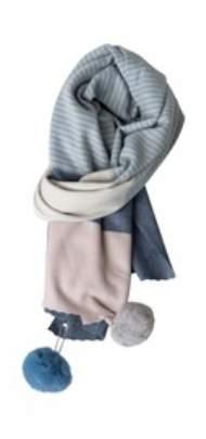salg af Jenne K Tørklæde i blå farver
