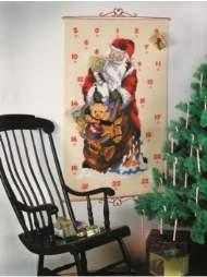 salg af Julekalender- julemand med gavesæk