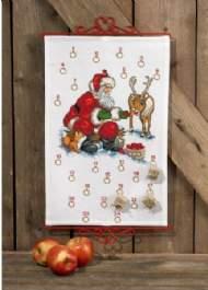 salg af Julekalender Julemand og Rudolf fra Permin