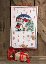 salg af Julekalender Nisse & Kanin fra Permin