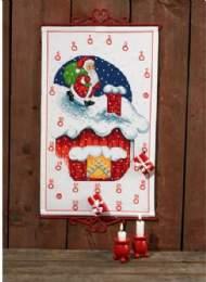 salg af Julekalender Nisse på taget fra Permin