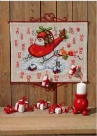 salg af Julekalender - Julemand i helicopter