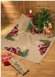 salg af Juletræstæppe Nissen sover