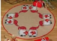 salg af Juletræstæppe Priknisse fra Permin