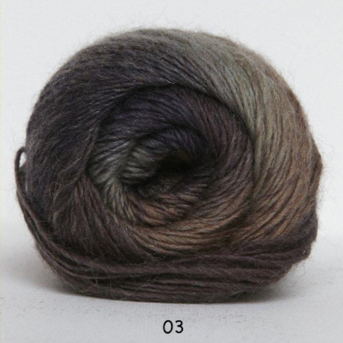Kunstgarn - lyng/brun meleret - Online salg af Kunstgarn | Håndarbejdshuset & Medy