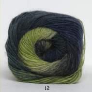 salg af Kunstgarn - støvet grøn/blå